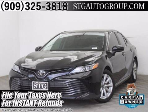 2019 Toyota Camry for sale at STG Auto Group in Montclair CA
