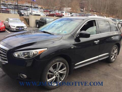 2015 Infiniti QX60 for sale at J & M Automotive in Naugatuck CT