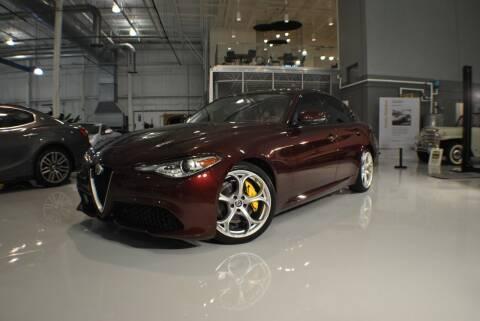 2019 Alfa Romeo Giulia for sale at Euro Prestige Imports llc. in Indian Trail NC