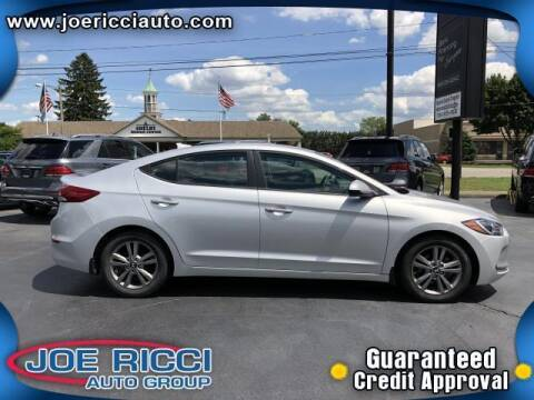 2017 Hyundai Elantra for sale at Mr Intellectual Cars in Shelby Township MI