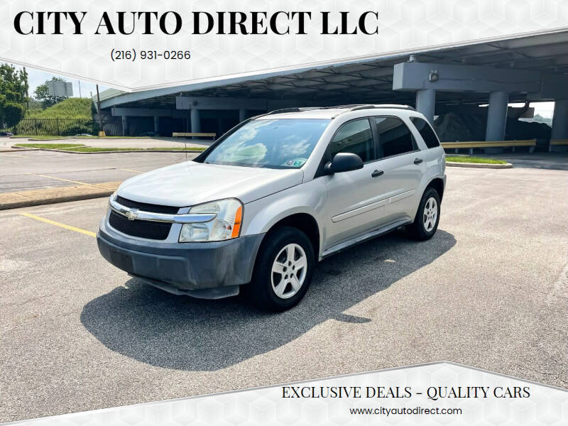 2005 Chevrolet Equinox for sale at City Auto Direct LLC in Cleveland OH