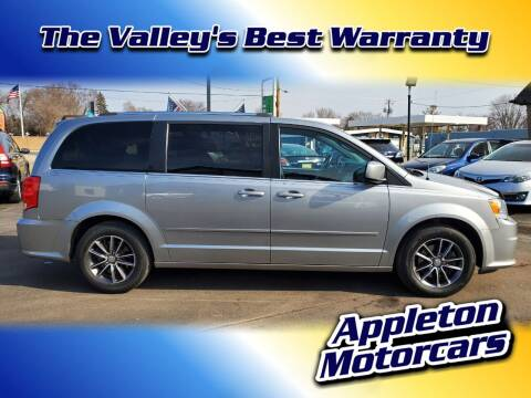 2017 Dodge Grand Caravan for sale at Appleton Motorcars Sales & Service in Appleton WI