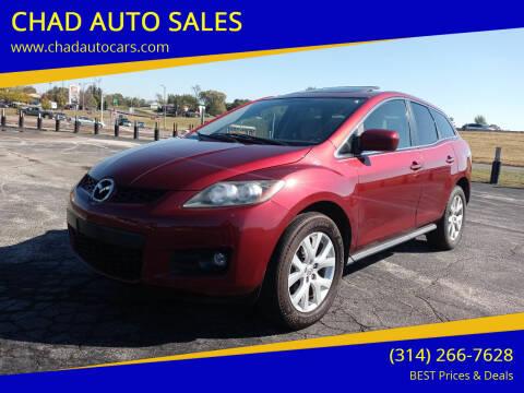 2008 Mazda CX-7 for sale at CHAD AUTO SALES in Bridgeton MO
