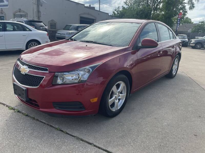 2014 Chevrolet Cruze for sale at T & G / Auto4wholesale in Parma OH