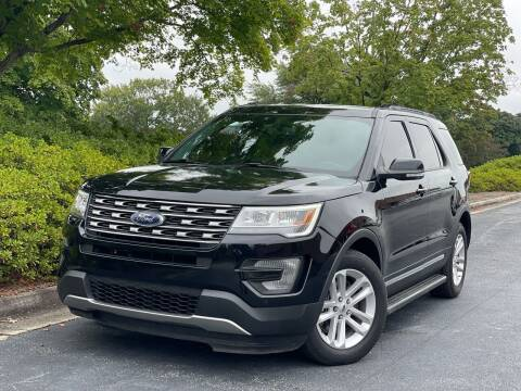2017 Ford Explorer for sale at William D Auto Sales in Norcross GA