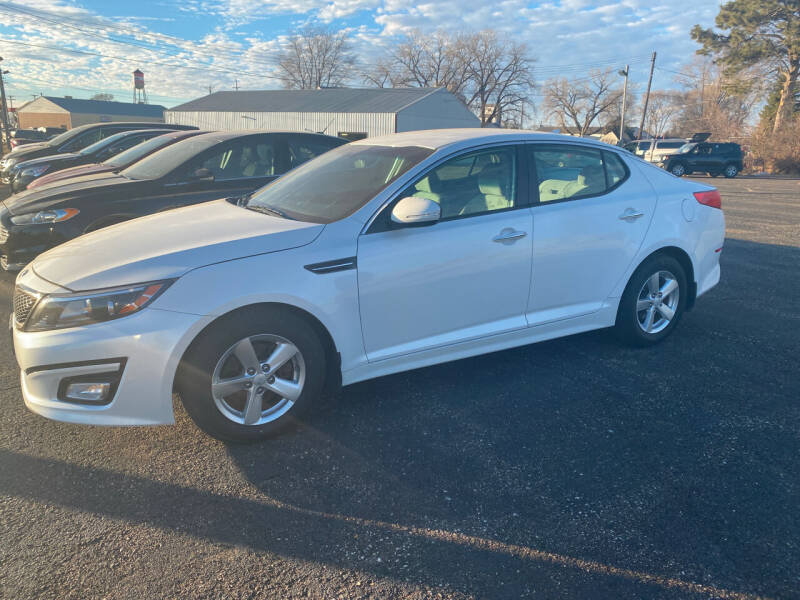 2015 Kia Optima for sale at Diede's Used Cars in Canistota SD