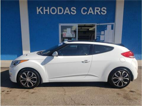 2013 Hyundai Veloster for sale at Khodas Cars in Gilroy CA