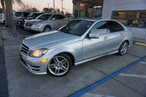 2014 Mercedes-Benz C-Class for sale at Industry Motors in Sacramento CA
