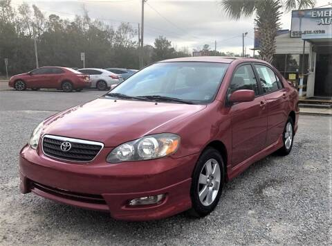 2006 Toyota Corolla for sale at Emerald Coast Auto Group LLC in Pensacola FL