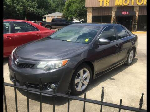 2014 Toyota Camry for sale at TR Motors in Opelika AL