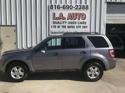 2008 Ford Escape for sale at LA AUTO in Bates City MO