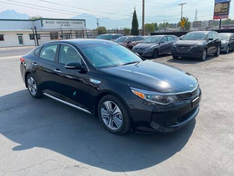 2017 Kia Optima Hybrid for sale at New Start Auto in Richardson TX