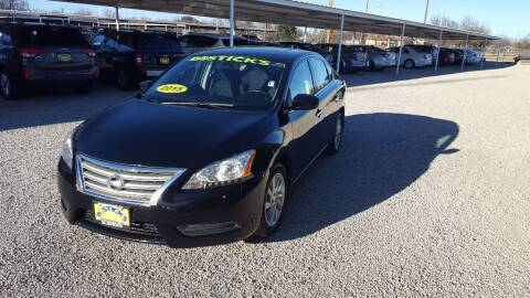 2015 Nissan Sentra for sale at Bostick's Auto & Truck Sales in Brownwood TX