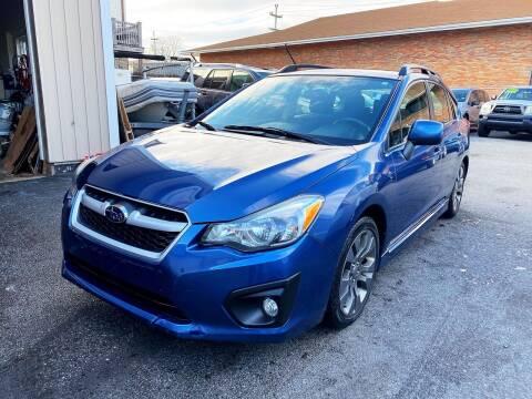 2013 Subaru Impreza for sale at Dijie Auto Sale and Service Co. in Johnston RI