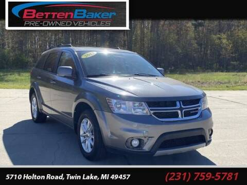 2013 Dodge Journey for sale at Betten Baker Preowned Center in Twin Lake MI