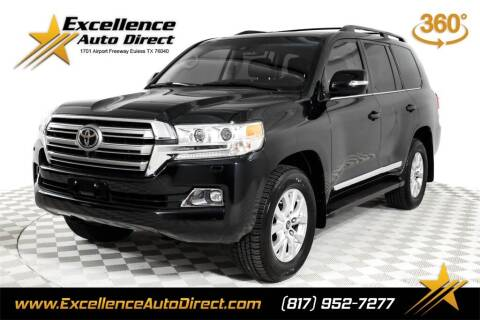 2016 Toyota Land Cruiser for sale at Excellence Auto Direct in Euless TX