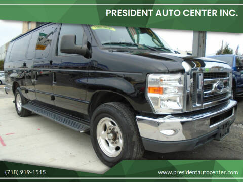 2012 Ford E-Series Wagon for sale at President Auto Center Inc. in Brooklyn NY