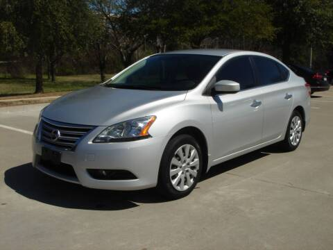 2013 Nissan Sentra for sale at ACH AutoHaus in Dallas TX