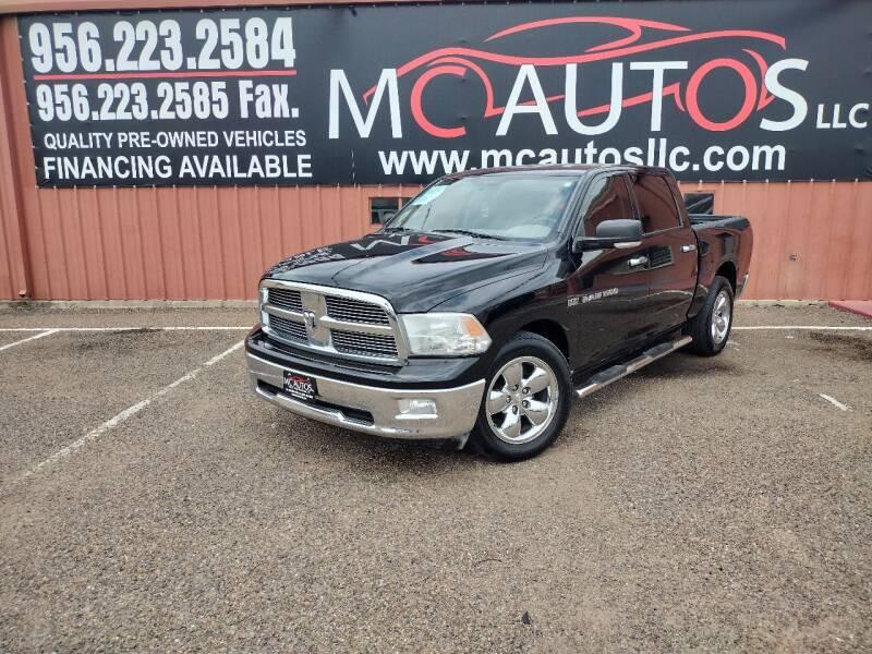 2012 RAM Ram Pickup 1500 for sale at MC Autos LLC in Pharr TX