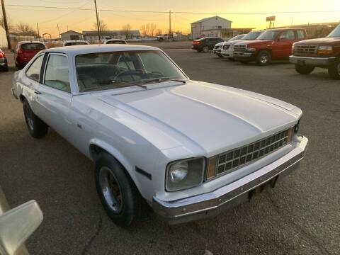 1976 Chevrolet Nova for sale at AFFORDABLY PRICED CARS LLC in Mountain Home ID