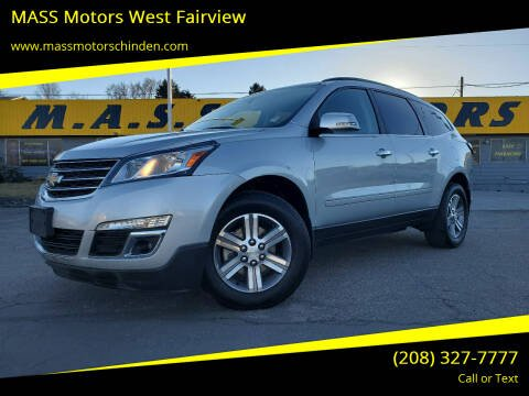 2016 Chevrolet Traverse for sale at M.A.S.S. Motors - West Fairview in Boise ID