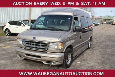 2001 Ford E-Series Cargo for sale at Waukegan Auto Auction in Waukegan IL