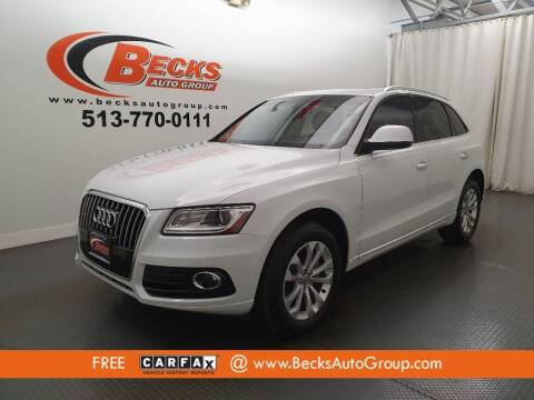 2015 Audi Q5 for sale at Becks Auto Group in Mason OH