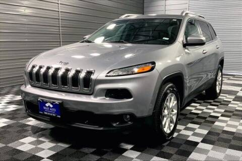 2015 Jeep Cherokee for sale at TRUST AUTO in Sykesville MD