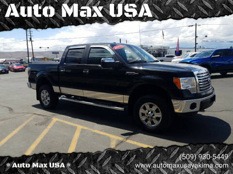 2012 Ford F-150 for sale at Auto Max USA in Yakima WA