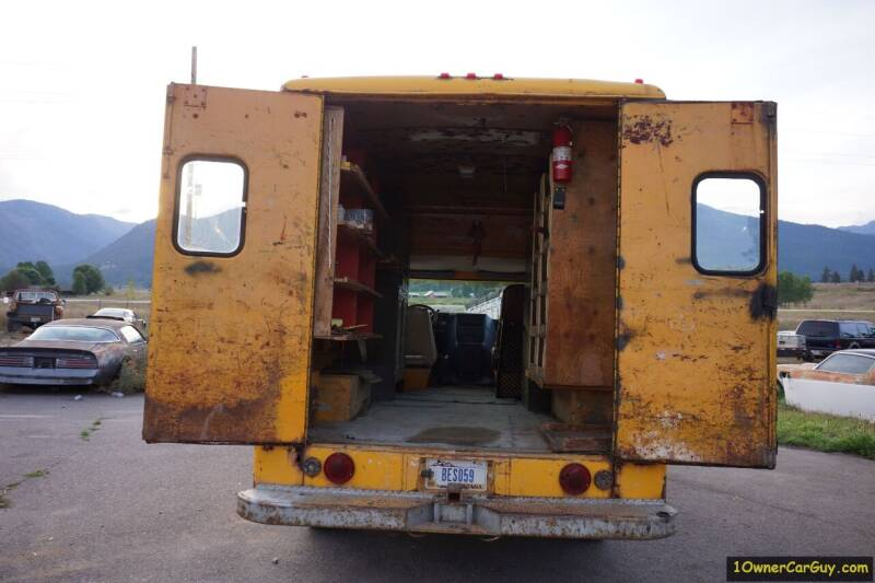 1981 Chevrolet G30 Commercial Box Van / Storage  - Stevensville MT
