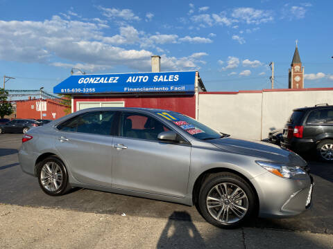 2017 Toyota Camry for sale at Gonzalez Auto Sales in Joliet IL