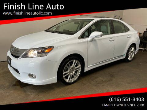2010 Lexus HS 250h for sale at Finish Line Auto in Comstock Park MI