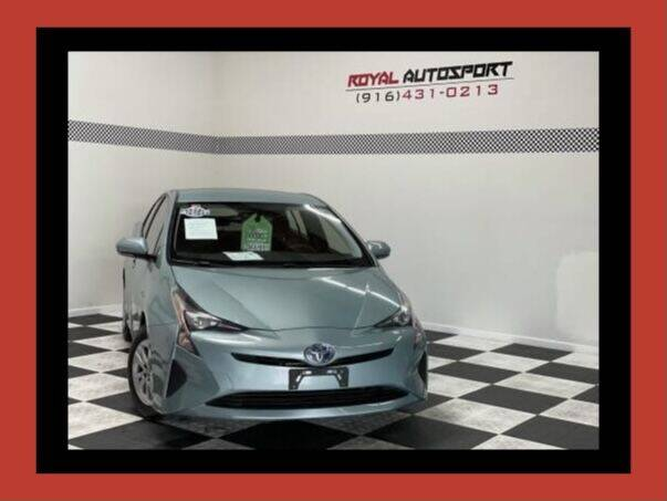 2016 Toyota Prius for sale at Royal AutoSport in Sacramento CA