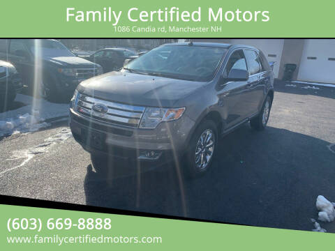 2009 Ford Edge for sale at Family Certified Motors in Manchester NH