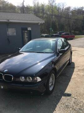 2001 BMW 5 Series for sale at Delong Motors in Fredericksburg VA