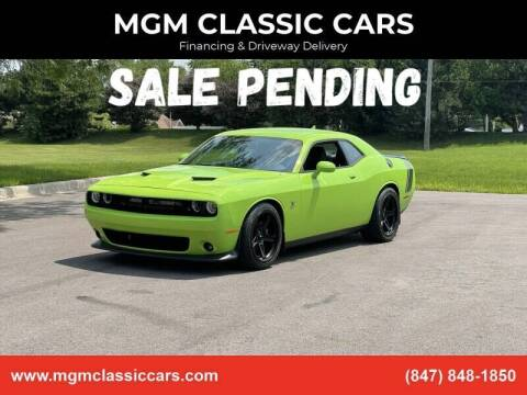 2015 Dodge Challenger for sale at MGM CLASSIC CARS-New Arrivals in Addison IL