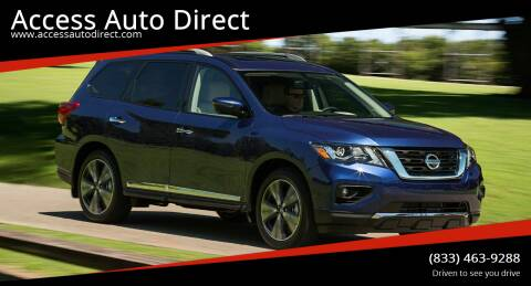 2020 Nissan Pathfinder for sale at Access Auto Direct in Baldwin NY