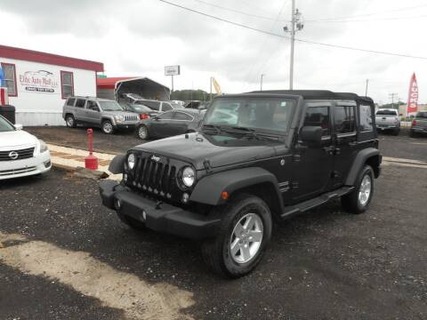 2017 Jeep Wrangler Unlimited for sale at Auto Center Elite Vehicles LLC in Spartanburg SC