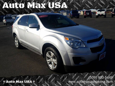 2012 Chevrolet Equinox for sale at Auto Max USA in Yakima WA