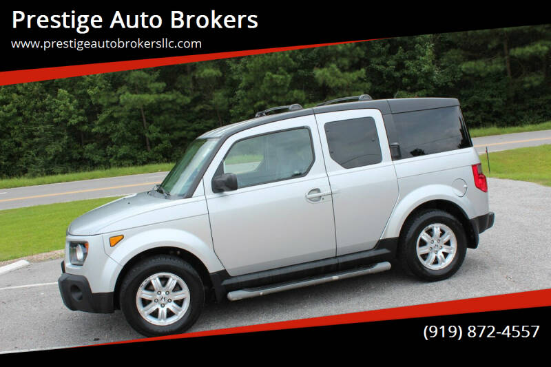 2008 Honda Element for sale at Prestige Auto Brokers in Raleigh NC