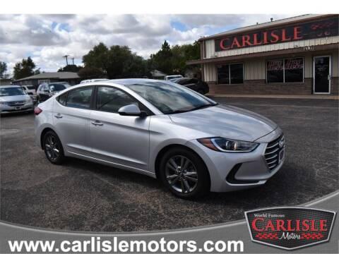 2018 Hyundai Elantra for sale at Carlisle Motors in Lubbock TX