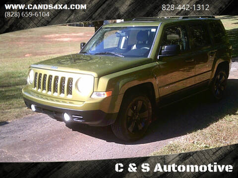 2012 Jeep Patriot for sale at C & S Automotive in Nebo NC