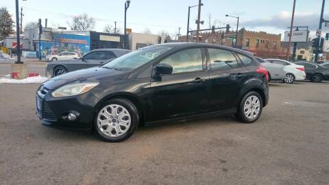 2012 Ford Focus for sale at Unlimited Motors, LLC in Denver CO
