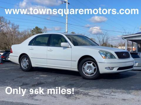 2001 Lexus LS 430 for sale at Town Square Motors in Lawrenceville GA