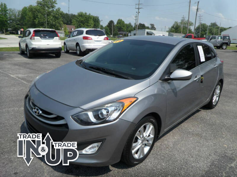 2014 Hyundai Elantra GT for sale at CARSON MOTORS in Cloverdale IN