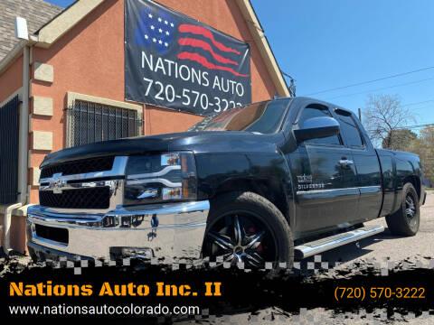 2012 Chevrolet Silverado 1500 for sale at Nations Auto Inc. II in Denver CO