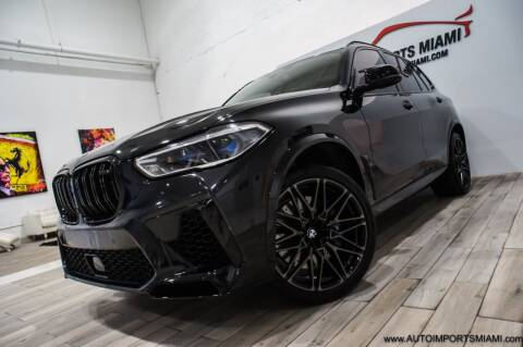 2020 BMW X5 M for sale at AUTO IMPORTS MIAMI in Fort Lauderdale FL