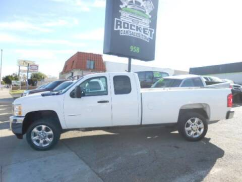 2013 Chevrolet Silverado 2500HD for sale at Rocket Car sales in Covina CA