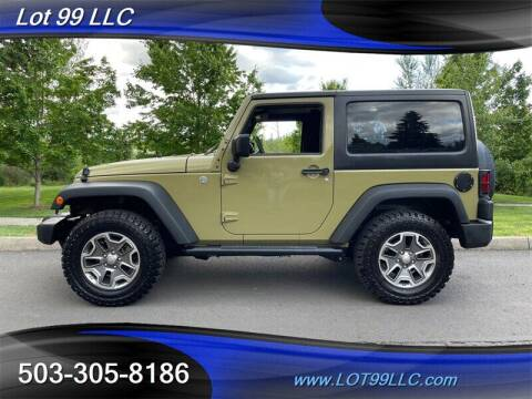 2013 Jeep Wrangler for sale at LOT 99 LLC in Milwaukie OR
