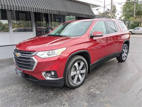 2018 Chevrolet Traverse for sale at GAHANNA AUTO SALES in Gahanna OH